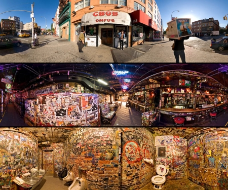 Inside CBGB's (Photos by Jook Leung)