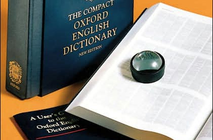 Compact Edition of The Oxford English Dictionary