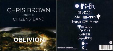 OBLIVION CD Cover