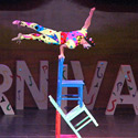 Evgeniy Vilkovskiy performing Chair Balance