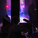 View from the wings on stage left