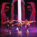 Hilary Sweeney, Michelle Dortignac and Kristen Olness performing Silks