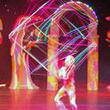 Danny D'Oscar performing Cube Juggling